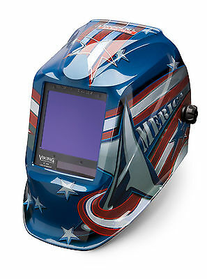 Lincoln Viking 3350 All American Welding Helmet K3175-3