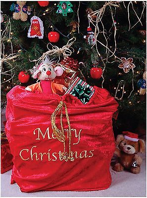 Santa Claus Sack Bag Christmas Adult Costume Accessory