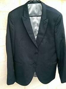 Roger David black stripe suit jacket Beeliar Cockburn Area Preview
