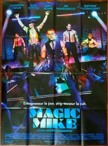 Poster Magic Mike Steve Soderbergh Channing Tatum Alex Pettyfer 47 3/16x63in B