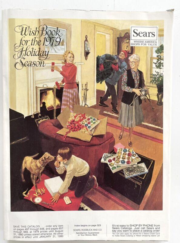 Vintage 1979 SEARS Christmas Catalog Star Wars Disco ATARI -AS NEW-
