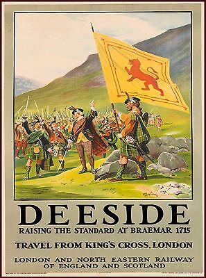 Deeside Scotland England Great Britain Travel Advertisement Art Poster 2