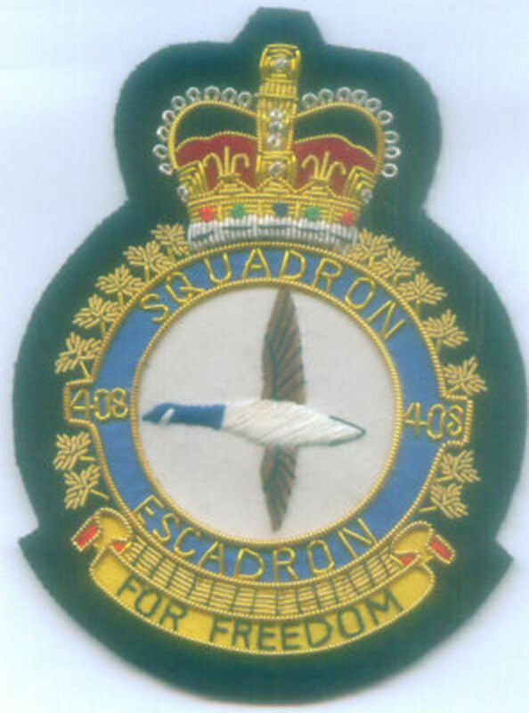 Canada Canadian UK RCAF RAF ? Air Squadron 408 Helicopter Rescue War Patch Wing