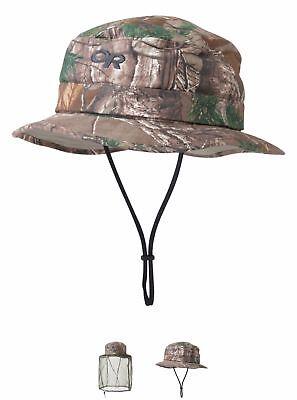 brand new 0f877 fe326 Outdoor Research Men s MOSQUITO NET Bug Helios Realtree Camo Sun Hat, Medium