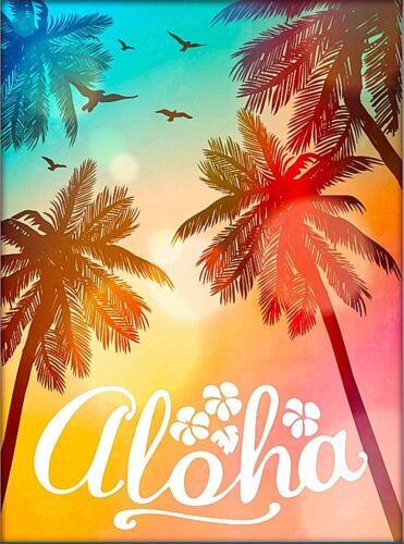 Aloha Hawaii United States Travel Home Wall Decor Advertisement Art Poster Print