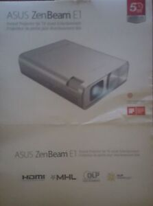Asus Zen beam E1 Portable Projector up to 120 inches.