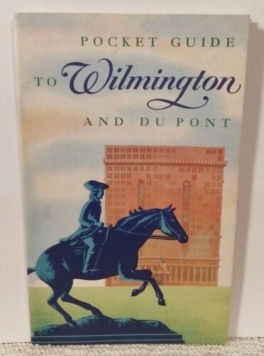 RARE! MCM 1955 Pocket Guide to Wilmington & Du Pont Corp Travel Brochure 2 MAPS!