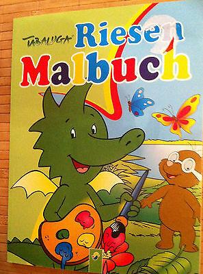 Malbuch Tabaluga Mega-Rätsel & Malbuch  * Din A4 Geschenk für Jung und Alt