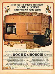 Publicite 1966 roche bobois meubles mural ebay - Roche bobois promotion ...