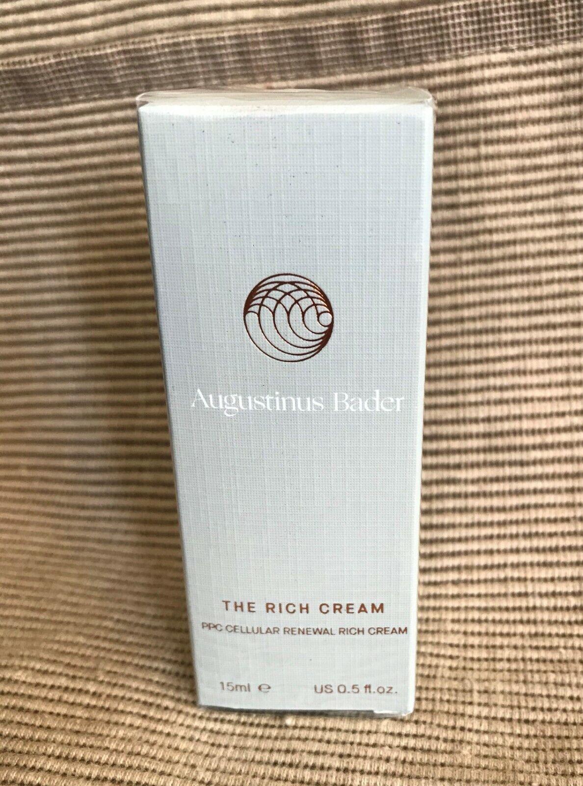 New Sealed Augustinus Bader The Rich Cream 15ML .5 Oz See Description - $69.99