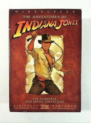 The Adventures of Indiana Jones (DVD, 2003, 4-Disc Set, Widescreen) Movie