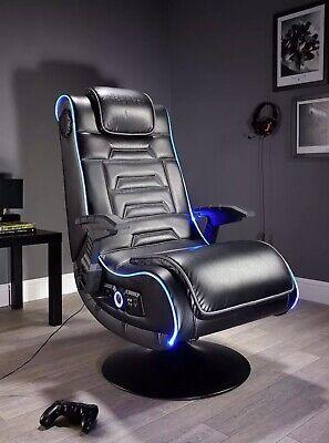 X Rocker New Evo Pro Gaming Chair LED Edge Lighting - E30