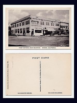 California Inyo County Bishop First National Bank Circa 1930
