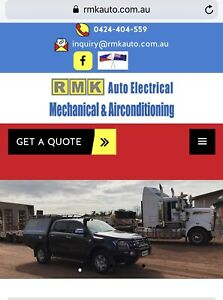Mobile automotive electrical & airconditioning repair