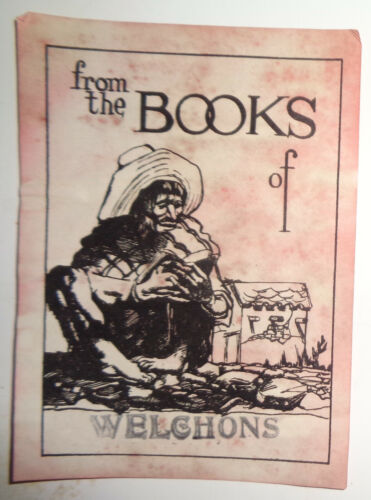 Welchons - Ex Libris Bookplate