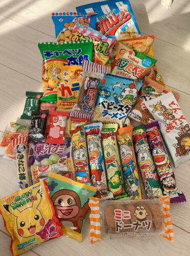 DAGASHI pokemon Japanese snack box 30piece  & rice flake & hachi original gift
