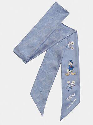 Disney X COACH Donald Duck Silk Skinny Scarf