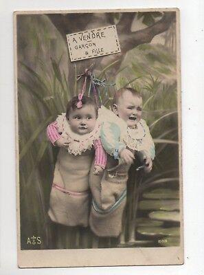 Fantasie - zum Verkauf Junge und Tochter (J2097) (Jungen Zum Verkauf)