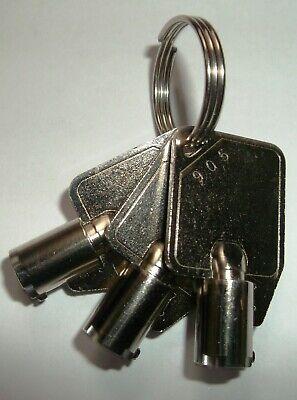 3 New Genmega Hantle Tranax Tcdu Keys 905