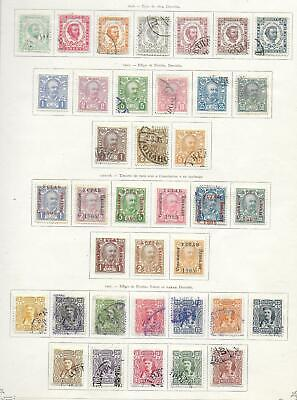 Montenegro stamps 1898 Collection of 37 CLASSIC stamps HIGH VALUE!