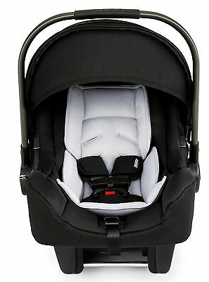 Nuna Baby Pipa Ultra Lightweight Infant Car Seat w Load Leg Base Night NEW