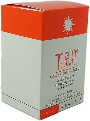 TanTowel Half Body Classic 10 Pack