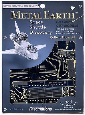Metal Earth Space Shuttle Discovery 3D Puzzle Micro Model