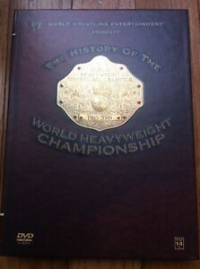 WWE History Of The World Heavyweight Championship DVDs