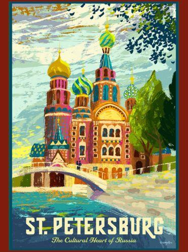 St. Petersburg Heart of Russia Russian St. Basil