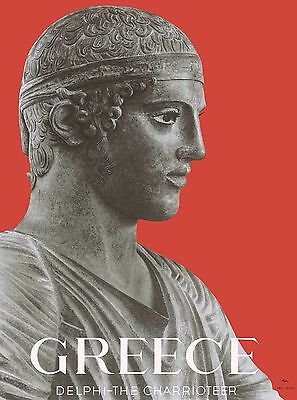 Greece Greek Delphi the Charriotier Vintage Travel Advertisement Poster
