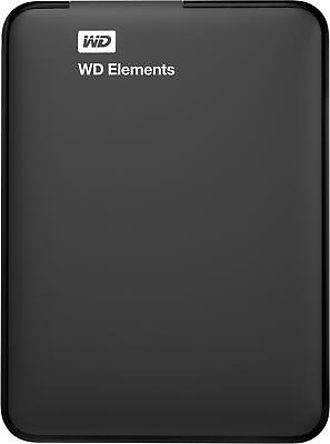 WD 1TB Elements Portable External Hard Drive  - USB 3.0  -