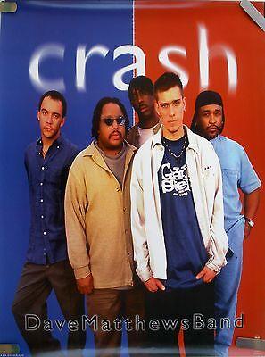DAVE MATTHEWS BAND CRASH 1996 VINTAGE ORIGINAL MUSIC RECORD STORE PROMO (Matthews Store)
