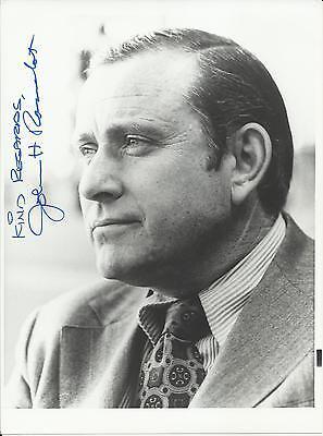 John H. Rousselot - U.S. Representative Autographed 8x10 Photo with Letter
