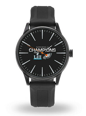 Philadelphia Eagles Champions Cheer Watch Team Color Logo Blue Band Super Bowl