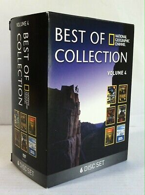 National Geographic Best of Collection Volume 4 (DVD, 2013, 6-Disc