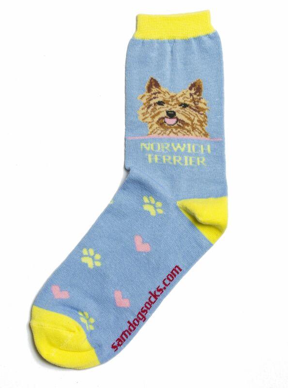 Norwich Terrier Dog Socks