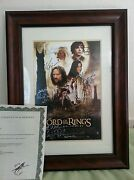 Lord of The Rings Autographed Poster