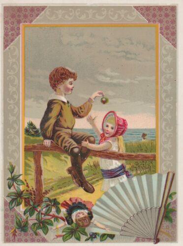 JUMBO VICTORIAN TRADE CARD~STIMSON