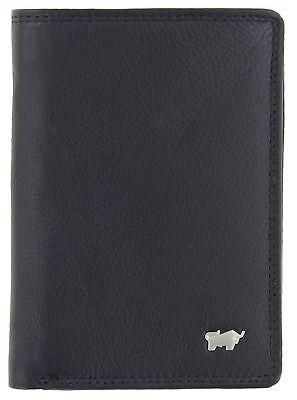 Braun Büffel Golf 2.0 High 9 Card Wallet Geldbörse Black Schwarz (Wallet 9 Karten-halter)