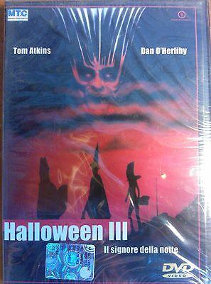 Halloween Iii Film (FILM DVD - HALLOWEEN III - IL SIGNORE DELLA NOTTE TOM ATKINS DAN O'HERLIHY NUOVO)