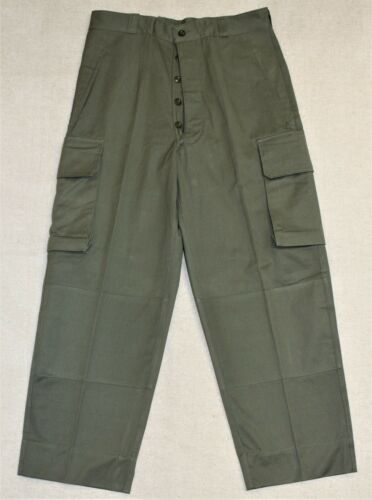 Genuine Indochina French Army M47 HBT Cargo Pants /Trousers W34 L42