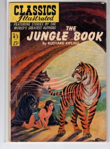 Classics Illustrated #83 HRN 85 (Original) VGFN Blum The Jungle Book