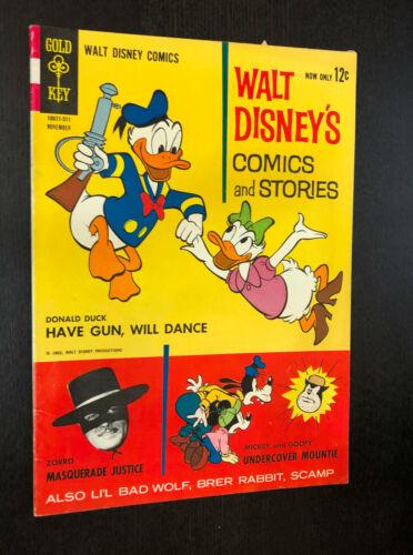 WALT DISNEY COMICS AND STORIES #278 (Gold Key 1963) -- F+