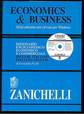 PICCHI FERNANDO DIZIONARIO ENCICLOPEDICO ECONOMICO COMMERCIALE ZANICHELLI 2001