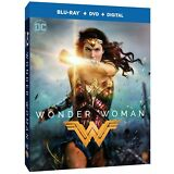 Wonder Woman (Blu-ray/DVD, 2017, 2-Disc Set, Includes Digital Copy) NEW