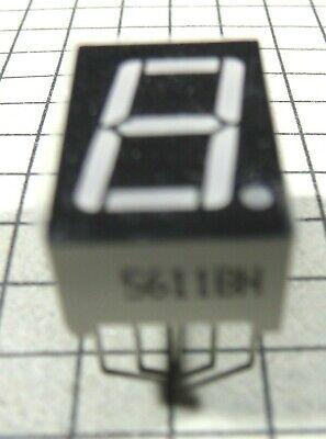 7 Segment Common Anode Led Display 5611bh 3pcs Per Lot