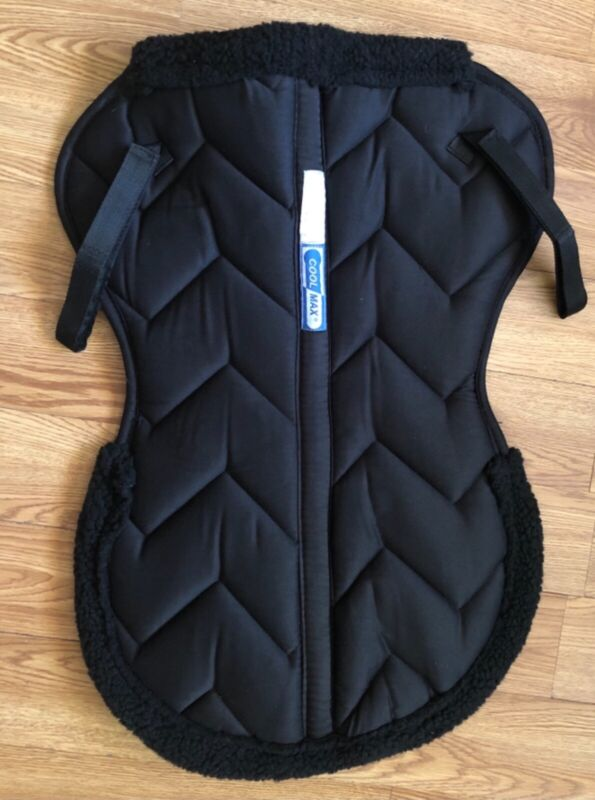 Lettia Cool Max Half Pad Black Large(New without Packaging)