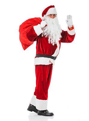 �m Erwachsene Santa Claus Nikolauskostüm Verkleidung  (Santa Claus Kostüm)