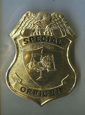 Officer Brust (USA: Brustabzeichen: Special Officer - gold)
