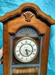Pre-owned Bulova C33724083 Pendulum, Westminster Chime, Wall Clock